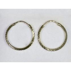 Náušnice kruhy 001066