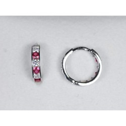 Náušnice kruhy 950041