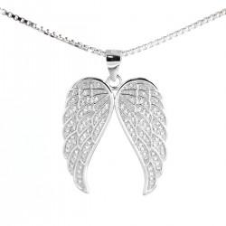 Přívěs andělské křídla s řetízkem