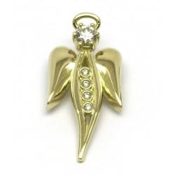 Přívěs anděl s brilianty
