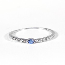 Prsten s modrým očkem