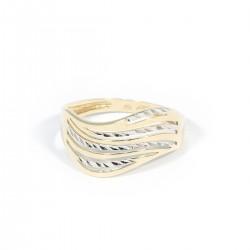 Prsten vlnky výřez