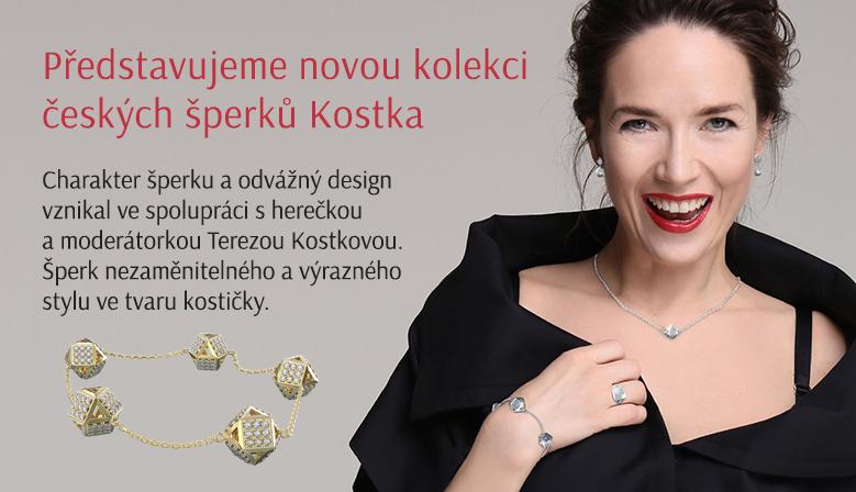 Šperky Kostka