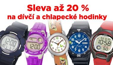 Sleva dětské hodinky