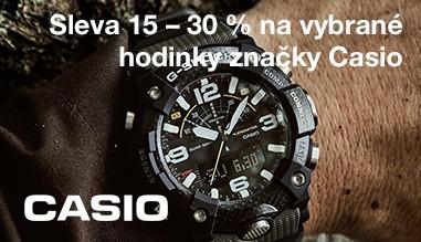 Casio sleva 15 %